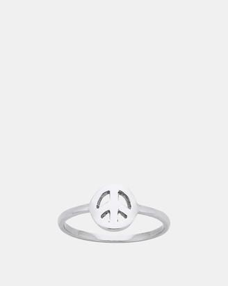 Karen Walker Mini Peace Ring