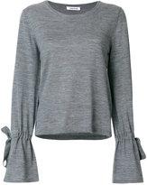 P.A.R.O.S.H. drawstring cuff sweater - women - Wool - XS