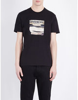 Givenchy Couture Label Cotton-jersey T-shirt