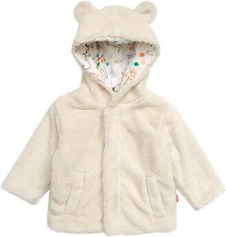 Minky Magnetic Me Fleece Hooded Jacket
