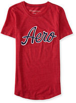 Aeropostale Womens Embroidered Aero Graphic T Shirt