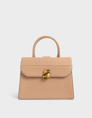 Charles & Keith Structured Tote