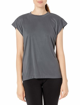 Bench Women's Sleeveless Rib Tee Shirt