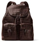 Michael Kors Textured Leather Backpack