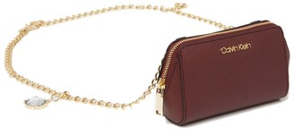 Calvin Klein Marybelle Gifting Saffiano Leather Belt Bag