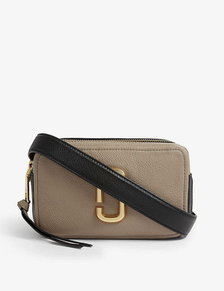 Marc Jacobs Softshot 21 leather cross-body bag