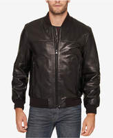 Andrew Marc Men's Summit Leather Bomber Jacket