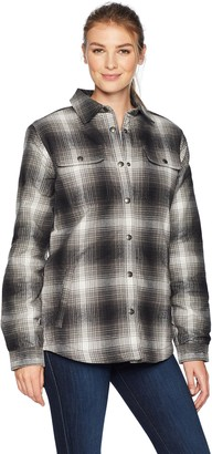 Carhartt Women's Hubbard Sherpa Lined Shirt Jac