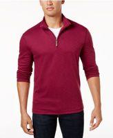Tasso Elba Men's Quarter-Zip Performance Sweater, Created for Macy's