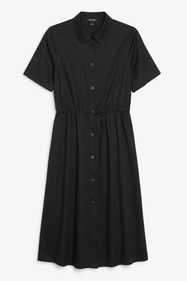 Monki Cotton shirt dress