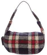 Kate Spade Leather-Trimmed Tweed Bag