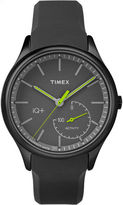 Timex Iq+ Move Unisex Black Smart Watch-Tw2p95100f5