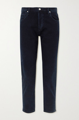 Citizens of Humanity Emerson High-rise Straight-leg Jeans - Navy