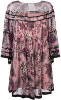 Chloé cactus flower print dress - women - Silk/Polyester - 36