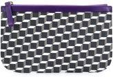 Pierre Hardy mini cube design clutch - unisex - Calf Leather/Canvas - One Size