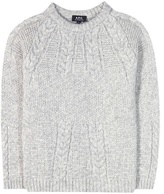 A.P.C. Alpaca, Cotton And Merino Sweater