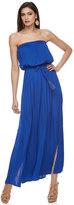 JLO by Jennifer Lopez Women's Strapless Blouson Maxi Dress