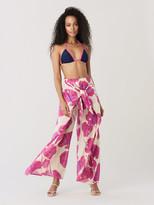 Diane von Furstenberg Moss Triangle Bikini Top