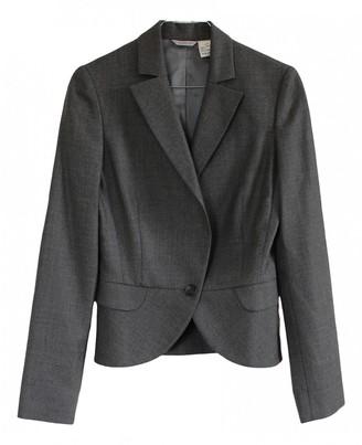 Barneys New York Grey Wool Jacket for Women