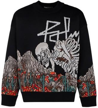 Palm Angels Desert Skull Sweater