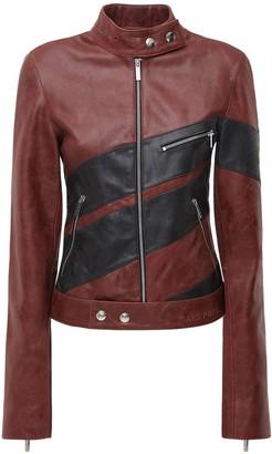 Saks Potts Wheel Leather Jacket
