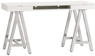 Pottery Barn Teen Customize It Project A Frame Desk, Simply With with Galvi Bases