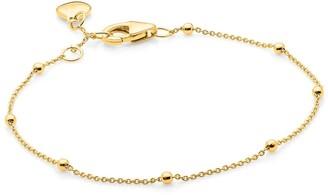 Katie Belle 18Ct Gold Vermeil Beaded Bracelet