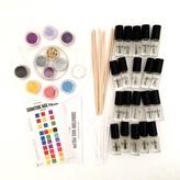 Make Your Own Glitter Nail Polish Kit