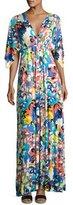 Rachel Pally Floral-Print Caftan Maxi Dress