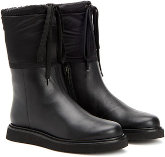 Aquatalia Camillia Weatherproof Leather Boot
