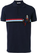 Iceberg Superman patch polo shirt - men - Cotton/Polyester - L