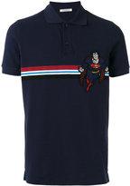 Iceberg Superman patch polo shirt