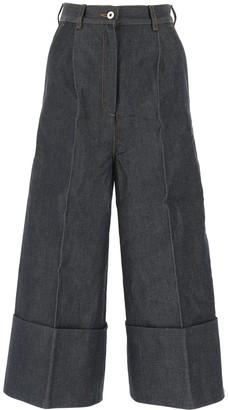 Loewe Denim-Effect Culotte Pants