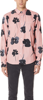 Stussy Water Color Poppy Shirt