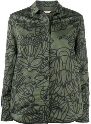 Odeeh Floral-Print Cotton Jacket