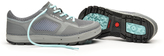 Astral Gray & Turquoise Aquanaut Sneaker - Women
