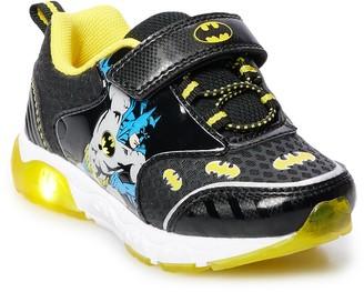 Licensed Character DC Comics Batman Toddler Light Up Shoes
