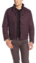 Kenneth Cole Reaction Men's Soft Quilted Bomber Jacket