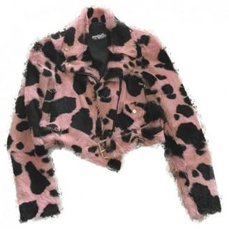 Jeremy Scott Pink Fur Jacket for Women
