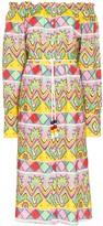 Mira Mikati Aztec print dress
