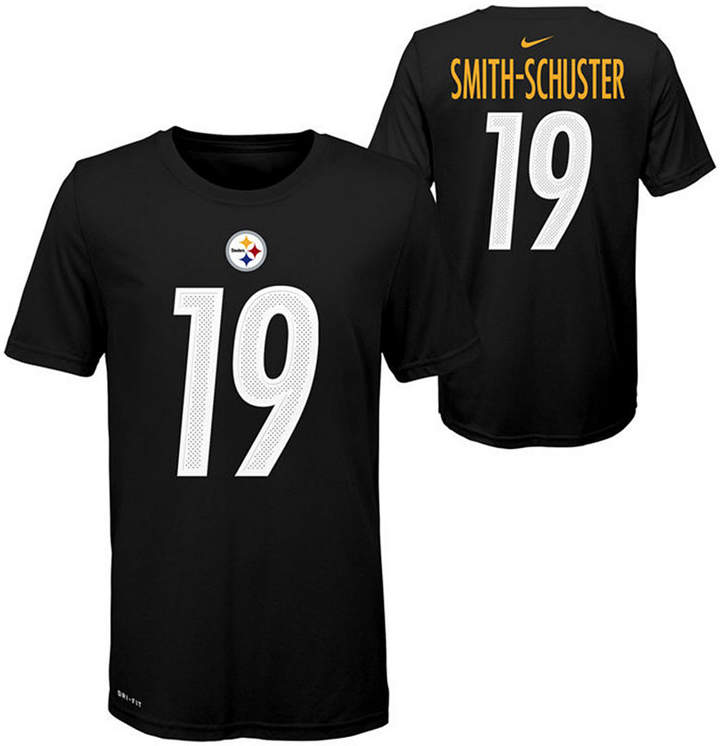 online store 68196 b07f9 Big Boys Juju Smith-Schuster Pittsburgh Steelers Pride Name and Number  T-Shirt