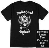 Global Motorhead - Mens England T-shirt X-large Black