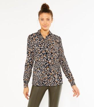 New Look Tall Leopard Print Shirt