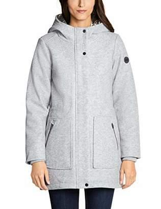 Cecil Women's 100528 Coat, (Mineral Grey Melange 10327), XX-Large