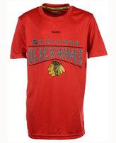 Reebok Boys' Chicago Blackhawks TNT Freeze Reflect T-Shirt