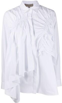 Preen Line Siri ruched shirt