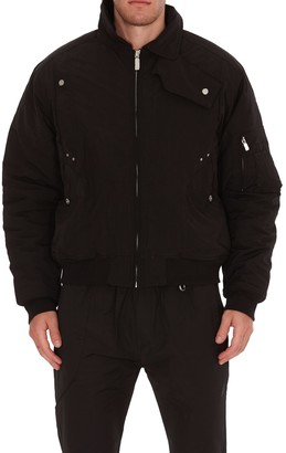 C2H4 Quilted Bomber Jacket