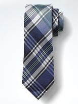 Banana Republic Vintage Plaid Silk Nanotex® Tie