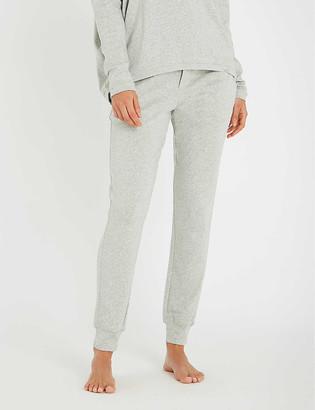 Calvin Klein Form logo-embroidered cotton-blend jogging bottoms
