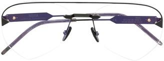 So.Ya Rick aviator-frame glasses